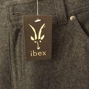 Mens Ibex merino wool pants
